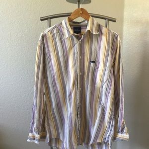 Faconnable Long Sleeve Button Up Shirt